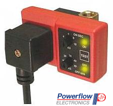 Powerflow Complete Drain Valve with Horizontal Timer with a Lead
