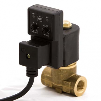 Solenoid Timer Drains