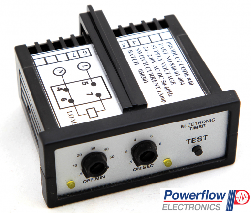 Powerflow Panel Mounted Timer