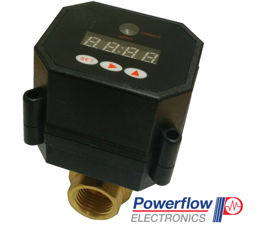 Powerflow Programmable Motorized Ball Valve