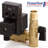 Powerflow Complete Drain Valve with Filter Ball Valve & Vertical Timer without a Lead